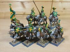 8 PLASTIC WARHAMMER EMPIRE KNIGHTS PAINTED (320)