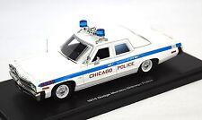 Dodge Monaco 1974 Policia de Chicago Autoworld 1142 1:43 Modelo De Resina