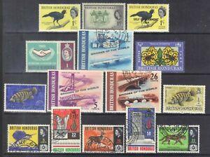 British Honduras-small selection.