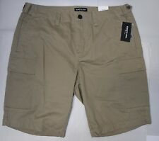 Kenneth Cole Size 34 Driftwood Khaki New Mens Shorts