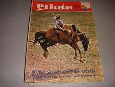 PILOTE 117 18.01.62 AUTO RALLYE MONTE CARLO COW BOY RODEO JACQUES COEUR