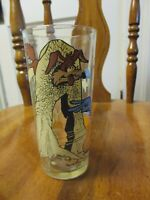 1976 WILE E COYOTE and THE ROAD RUNNER    Pepsi Collectors Glass
