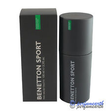 Benetton Sport for Men by Benetton EDT Spray 3.3 / 3.4 oz ~ BRAND NEW IN BOX