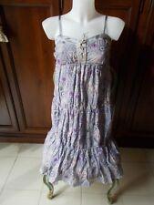 EXE Vestito Donna Women's Dress 100% SETA / 100% SILK Tg IT 44