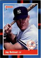1988 Jay Buhner Donruss Baseball Card #545