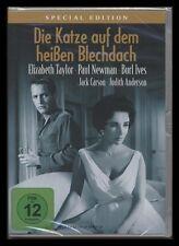 DVD DIE KATZE AUF DEM HEISSEN BLECHDACH - SPECIAL EDITION - ELIZABETH TAYLOR NEU