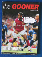 Arsenal FC - The Gooner - Supporters Fanzine - No 98 - 1999