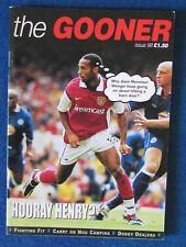 Arsenal FC - The Gooner - Supporters Fanzine - No 98 - 1999