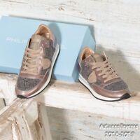 Sneaker Donna Tropez Philippe Model TRLD QV12 in pelle e vernice