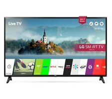 LG 49LJ594V 49 Inch SMART Full HD LED TV Freeview Play USB Recording Black