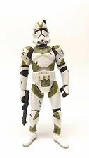 Star Wars Saga Collection TSC 057 Clone Trooper 442nd Siege Green Loose Complete