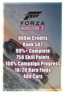 Forza Horizon 3 Modded Accounts ONLINE