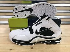 13c7131fe723b6 Nike Shox Elite TB Retro  04 Shoes White Black Oreo SZ 11.5 ( 309182-