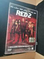 DVD Film RED 2 Bruce Willis John Malkovich Morgan Freeman Catherine Zeta-Jones