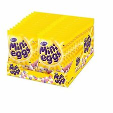 CADBURY MINI EGGS MILK CHOCOLATE 1-24 BAGS GIFT PARTY WEDDING FILLERS FULL BOX