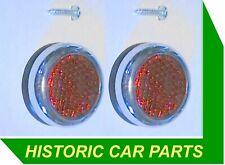 Austin Healey 3000 Mk 1 Mk 2 1960-65 -  REAR RED REFLECTORS
