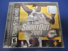 PlayStation 1, NBA Shoot Out 2001,Rated E,989 Sports,Accelerated 3D Game Engine