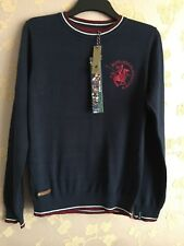 Santa Monic Polo Club Men's Knit Sweater Jumper Size:S BNWT