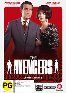 The Avengers series 6 - Brand new 9DVD set! - Region 4 + Special features!