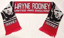 Wayne Rooney Manchester United and England Football Scarf