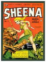 Sheena Queen of the Jungle #1 VF/NM Blackthorne Pub. 1985 Jerry Iger's Classic
