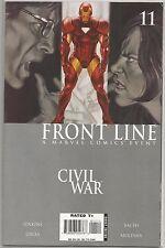 Civil War #11 : Front Line : Marvel comic book