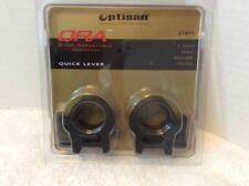 NEW High Quality Optisan QRA Weaver Scope Mounts SKU 37416 Matte
