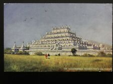 Burmah Burma MANDALAY Incomparable Pagoda c1906 Postcard by Raphael Tuck 7238