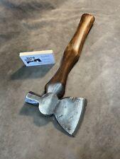 Vintage PLUMB Anchor Brand axe half hatchet hammer custom JESSE REED handle