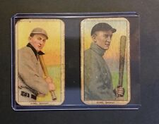 2 Awesome 1909 T206 TY COBB Aged Reprints Bat on & Off Shoulder .. FREE SHIPPING