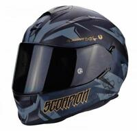 Scorpion EXO-510 Air Full Face Motorcycle Helmet Cipher - Matt Black/Gold