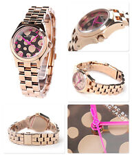 Marc Jacobs Small Henry Rose Gold Tone  Watch MBM3271