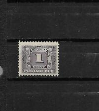 pk28315:Stamps-Canada #J1 Postage Due 1 cent Issue - Mint Hinged
