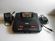 Sega Mega Drive II + Kabel + Spiel (Ohne Controller)