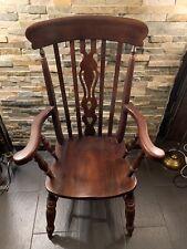 Windsor Chair Armlehnstuhl Art Deco Scheibtischstuhl