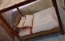 Doll Canopy Bed, High Quality Teak Wood for Ellowyne Wilde, Helen Kish dolls