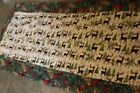 Green Pine Cones 12 x 33 Handmade Quilted Table Runner