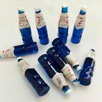 100 Pcs Resin Dollhouse Miniature 1:12 Scale 1664 Beer Weissbier Wine Bottles