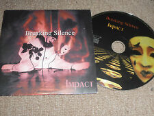 BREAKING SILENCE - impact   10 Track Promo CD