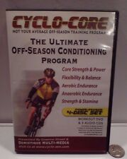 Cyclo-Core The Ultimate Off-Season Conditioning Program 4 Disc set 1 Dvd 3 Cd