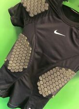 J736/270 American Football Nike Pro Combat Compression Padded Jersey Youth Small