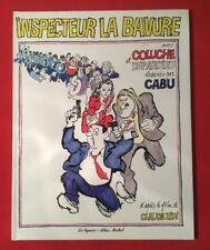 INSPECTEUR LA BAVURE COLUCHE DEPARDIEU CABU 1981 LE SQUARE BON ÉTAT BD