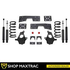 "MaxTrac 4""/6"" Drop Lowering Kit K330946-8 For 1999-2006 GMC Sierra 1500 2WD V8"