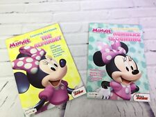 Disney Minnie The Alphabet Numbers & Counting Learning Workbooks Education Pre-K