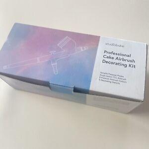 Studiobake Pro CAKE AIRBRUSH DECORATING KIT inc 8 Colours FREE UK P&P