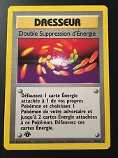 Carte Pokemon DOUBLE SUPPRESSION D'ENERGIE 79/102 Wizard Français NEUF EDITION 1