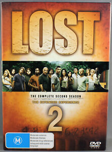 """LOST """"THE EXTENDED EXPERIENCE""""- SEASON 2 (2006: DVD, 7 DISC SET) LIKE NEW"""
