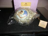 THOMAS BLACKSHEAR  2009 ANGEL GABRIEL Ornament NEW in BOX 2009 Ebony Visions
