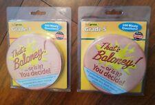 Brand New Edupress Children Grade 3 And Grade 5 That'S Baloney Card Game Lot -