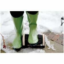 Bosmere Outdoor Boot Scraper - Side & Bottom Brushes, Stiff Nylon Bristles